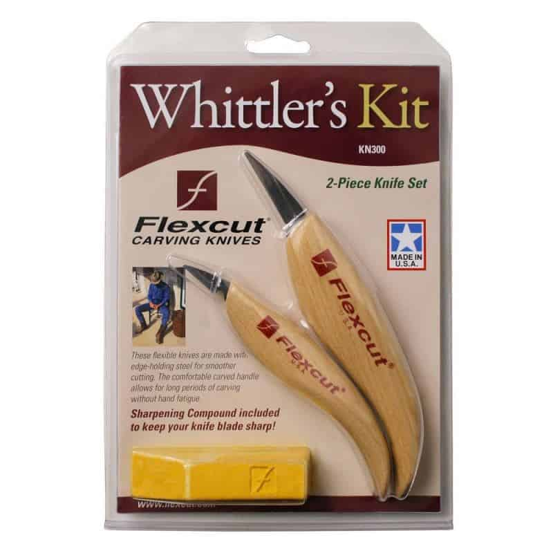 Flexcut KN300 Whittler's Kit in package