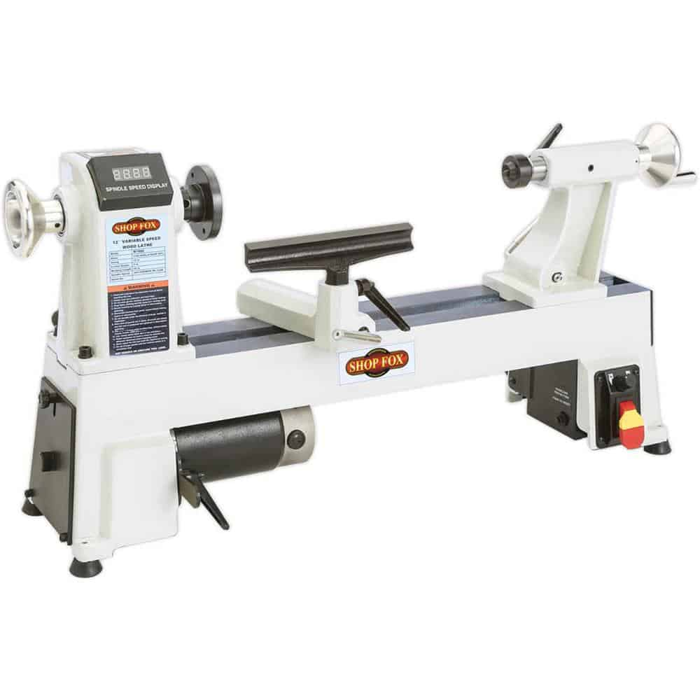 White Shop Fox W1856 lathe